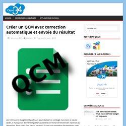 Créer un QCM avec correction automatique et envoie du résultat - Cloud34
