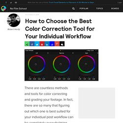 How to Choose the Best Color Correction Tool for Your Individual Workflow
