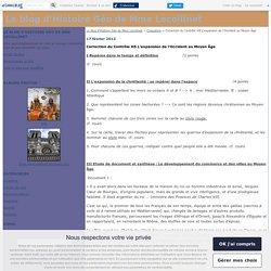 Correction du Contrôle H5 L'expansion de l'Occident au Moyen Âge - Le blog d'Histoire Géo de Mme Lecollinet