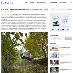 Casa no Gerês by Correia Ragazzi Architectos