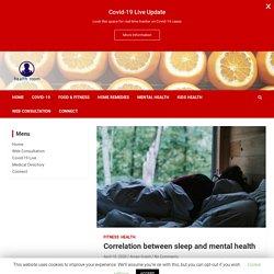 Correlation between sleep and mental health - Health Room