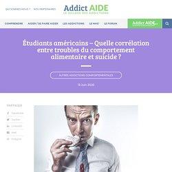 Quelle corrélation entre troubles du comportement alimentaire et suicide