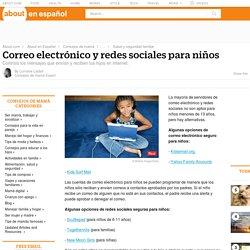 Correo electrónico y redes sociales para niños