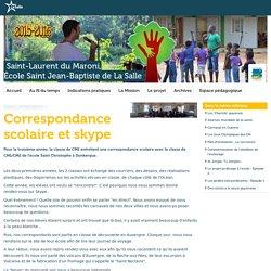 Correspondance scolaire et skype - LaSalle, France // Frères des Écoles Chrétiennes