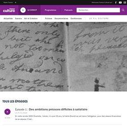 """""""Correspondance de la famille Brontë"""" – série de podcasts à écouter – France Culture"""