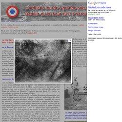 Artillerie lourde à grande puissance Verdun 20 juin 1917