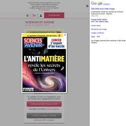 Sciences et avenir n° 836 d'octobre 20016