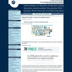 Cahier IP de la CNIL: Le corps, nouvel objet connecté