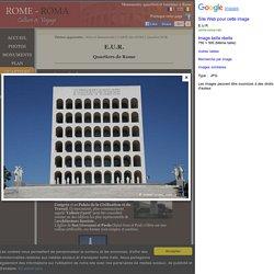 Palais de la civilisation italienne construit par Ernesto B. La Padula, 1938-1940