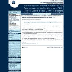 Quel rôle pour les Correspondants Informatique et Libertés (CIL) en 2012?