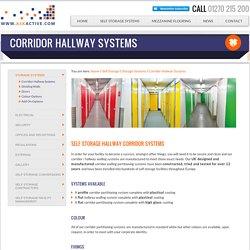 Corridor Hallway Systems