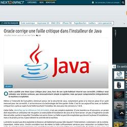 Oracle corrige une faille critique dans l'installeur de Java