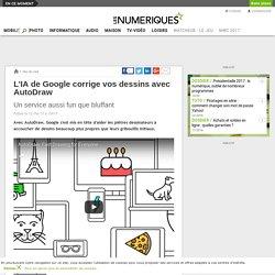 L'IA de Google corrige vos dessins avec AutoDraw