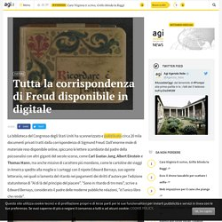 Tutta la corrispondenza di Freud disponibile in digitale