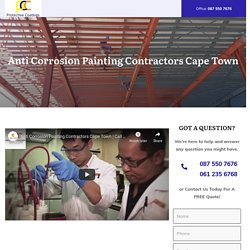 Anti Corrosion Painting Contractors Cape Town
