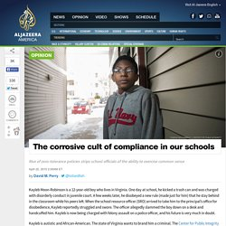 The Corrosive Cult of Compliance in Our Schools