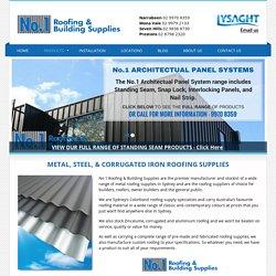 Metal, Steel & Corrugated Roofing Supplies