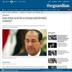 Iraq: what next for a corrupt and divided country? | World news
