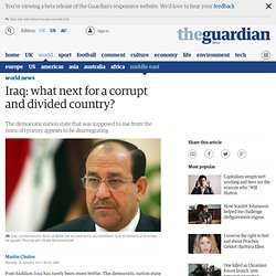 Iraq: what next for a corrupt and divided country?