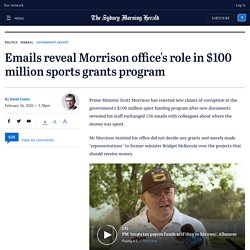 emails-reveal-morrison-office-s-role-in-100-million-sports-grants-program-20200226-p544n5