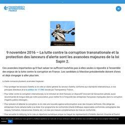 Lutte anti corruption : les avancées majeures de la loi Sapin 2