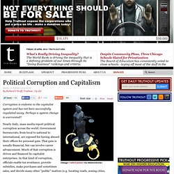 Political Corruption and Capitalism