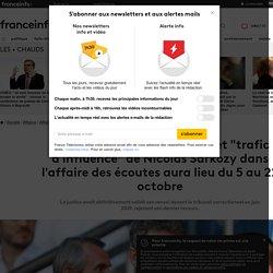 """Le procès pour """"corruption"""" et """"trafic d'influence"""" de Nicolas Sarkozy dans l'affaire des écoutes aura lieu du 5 au 22 octobre"""