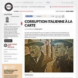 La corruption italienne à la carte
