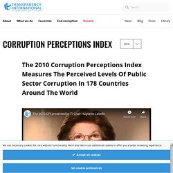 International - the global coalition against corruption