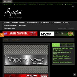 Corruption of Pharmaceuticals - Spinfuel The Art of Vaping