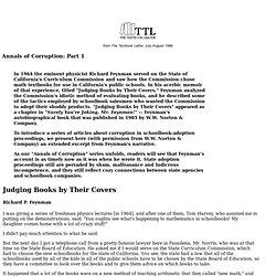Corruption in textbook-adoption proceedings: 'Judging Books
