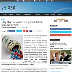 « Big Pharma » ou la corruption totale du système médical