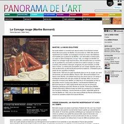 Le Corsage rouge (Marthe Bonnard)
