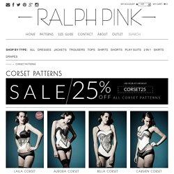 CORSET PATTERNS – Ralph Pink