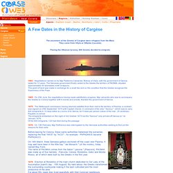 CARGESE HISTORY
