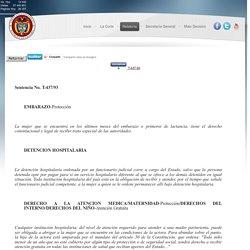 Sentencia No. T-437/93