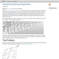 si - Visualising Sorting Algorithms