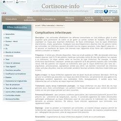 corticoides corticothérapie et infections