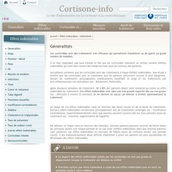 corticoides corticothérapie cortisone effets secondaires cortancyl solupred