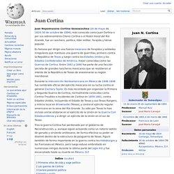 Juan Cortina - Wikipedia, la enciclopedia libre