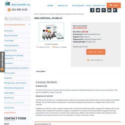 DRG Cortisol, 96 Wells Elisa Kit