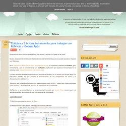 CoRubrics 2.0. Una herramienta para trabajar con Rúbricas y Google Apps
