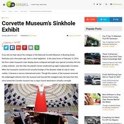 Corvette Museum's Sinkhole Exhibit