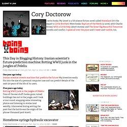 Boing Boing: CoryDoctorow