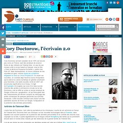 Cory Doctorow, l'écrivain 2.0