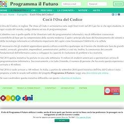Cos'è l'Ora del Codice? - ProgrammaIlFuturo.it