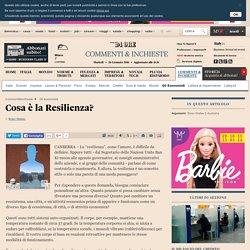 ilsole24ore: Cosa è la Resilienza?
