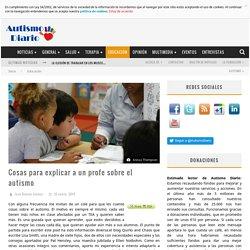 Cosas para explicar a un profe sobre el autismo