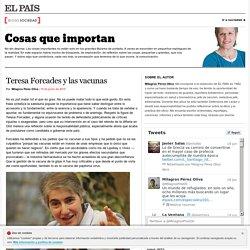 Cosas que importan por Milagros Pérez Oliva