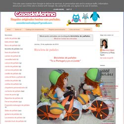 Regalos con pañales, detalles para bebes: bicicleta de pañales